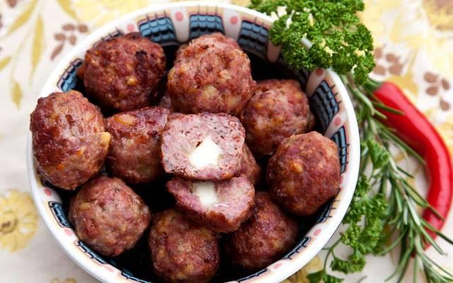 Рецепт тефтелей из свиного фарша