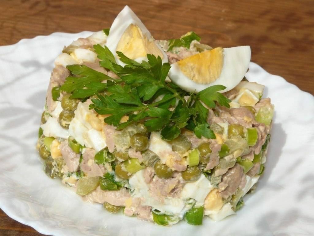 Как приготовить из печень трески салат 23