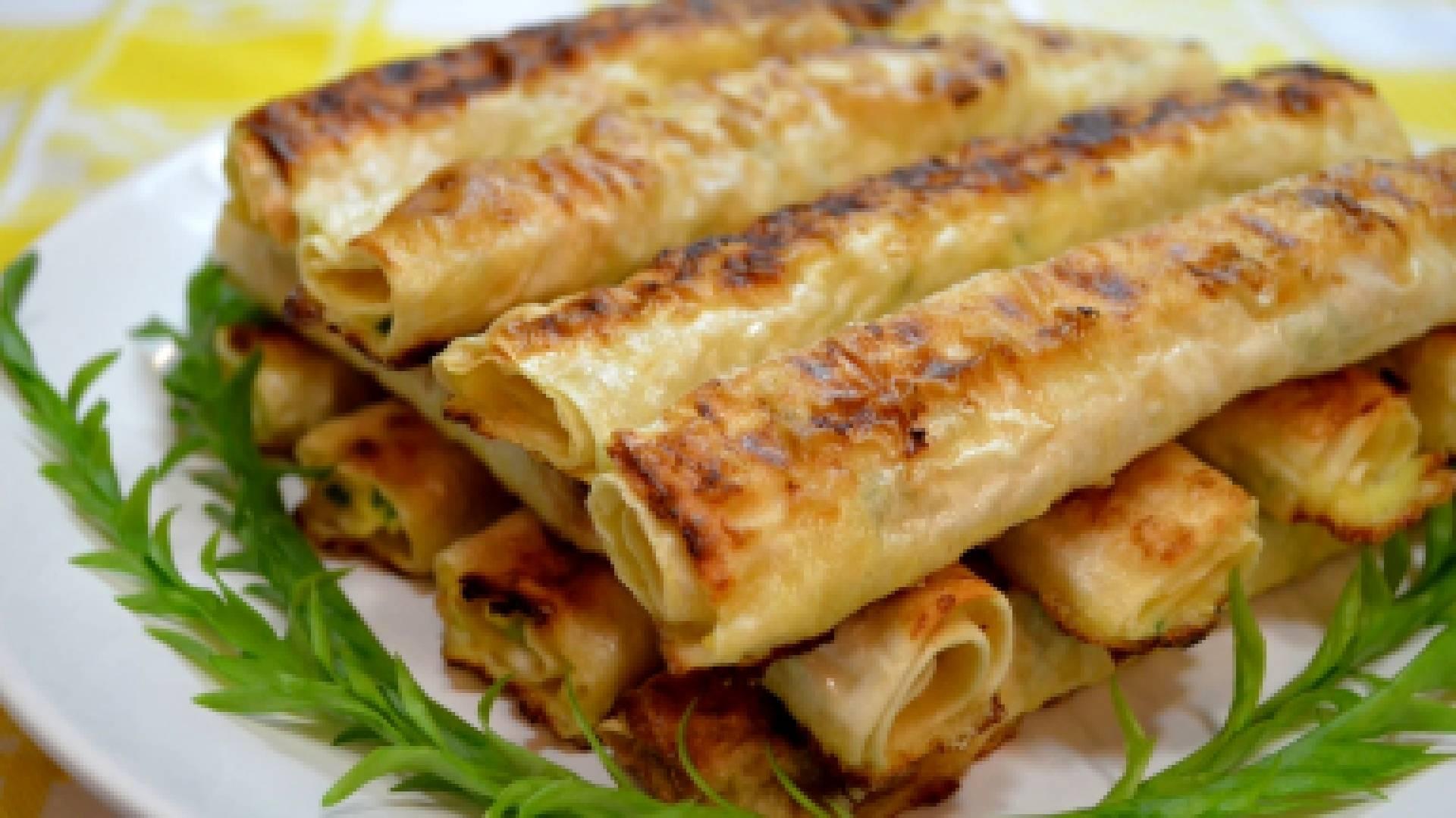 Простые рецепты из лаваша