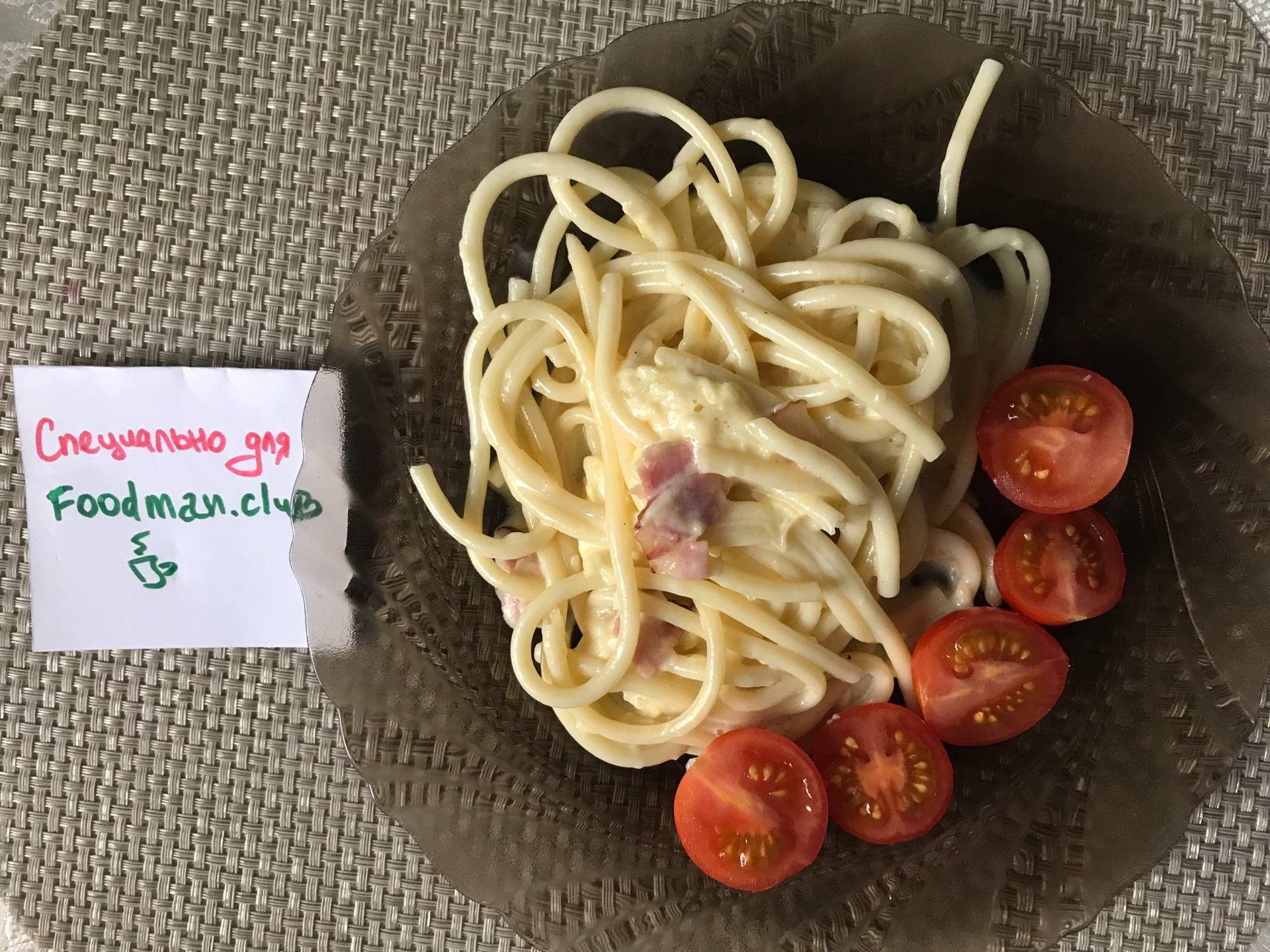Как сделать сливочный соус к спагетти