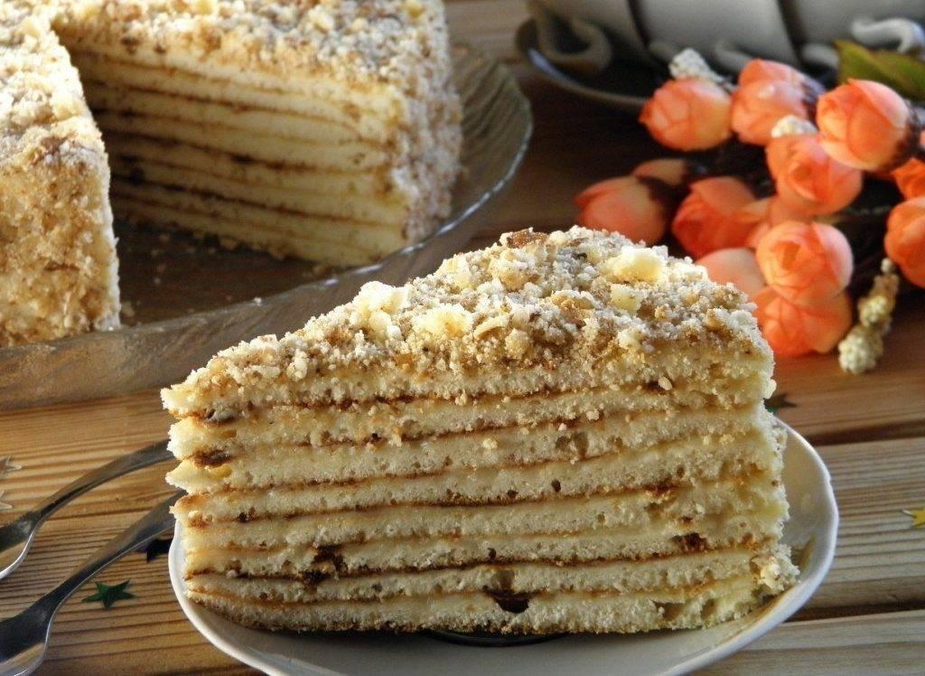 Рецепты тортов со сгущёнкой в домашних условиях 507