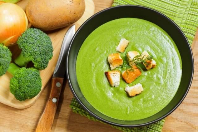 Крем суп из брокколи рецепт 126