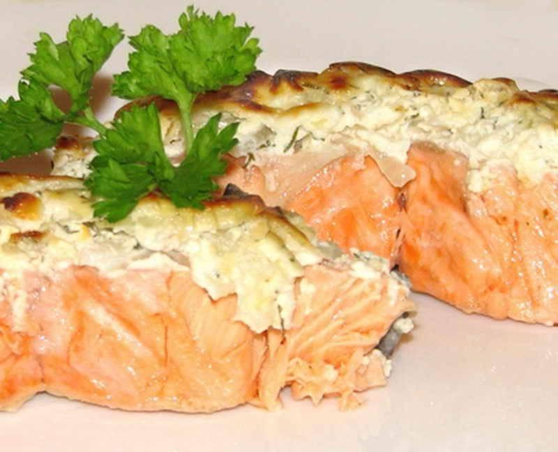 Горбуша под сыром в духовке рецепт пошагово