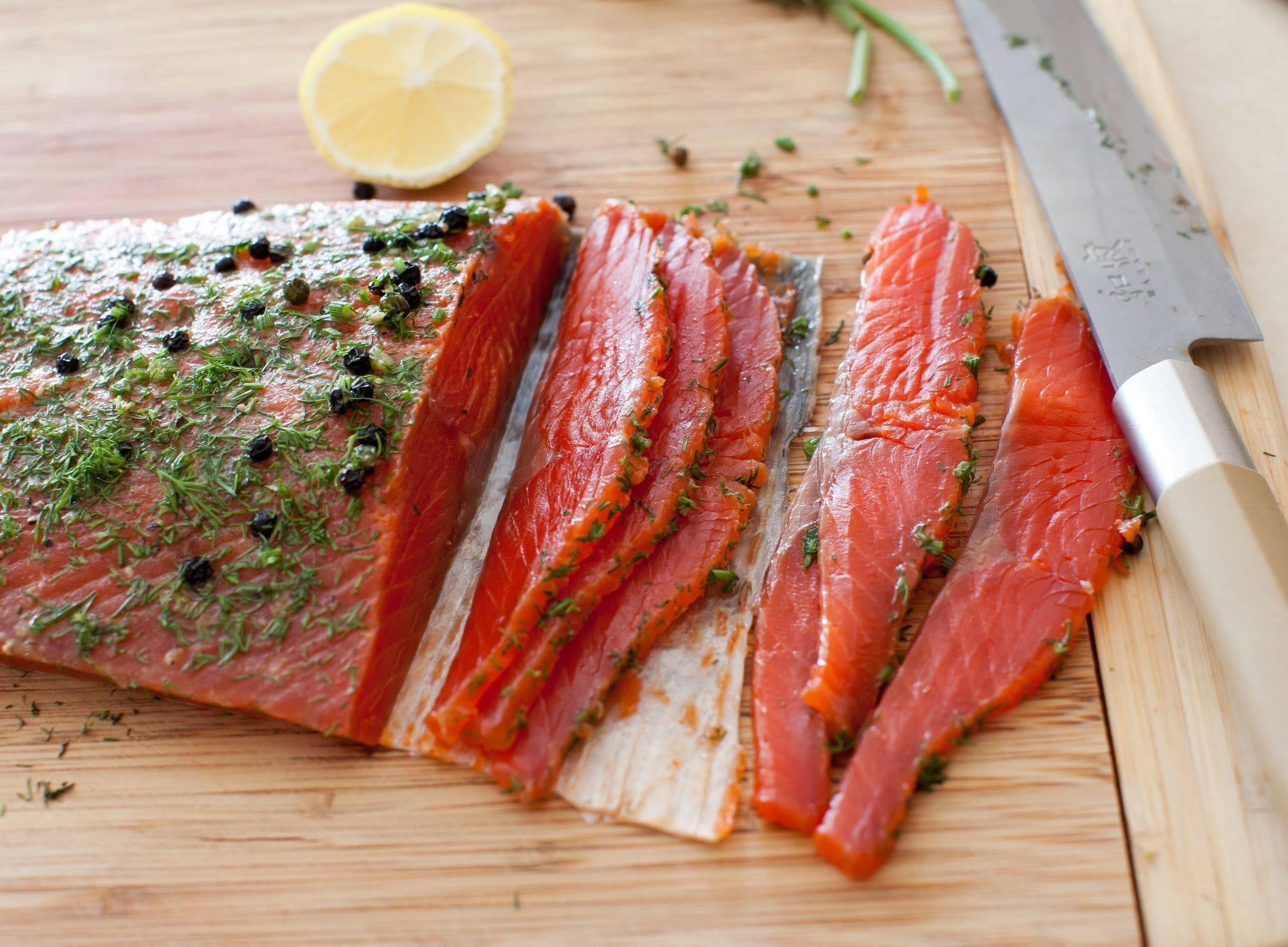 Как вкусно посолить красную рыбу в 58