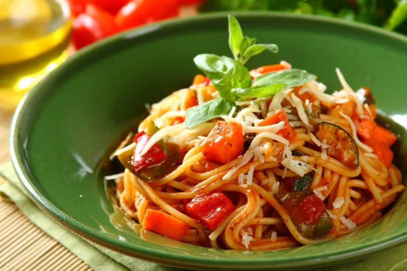 Спагетти с овощами в мультиварке рецепты с фото