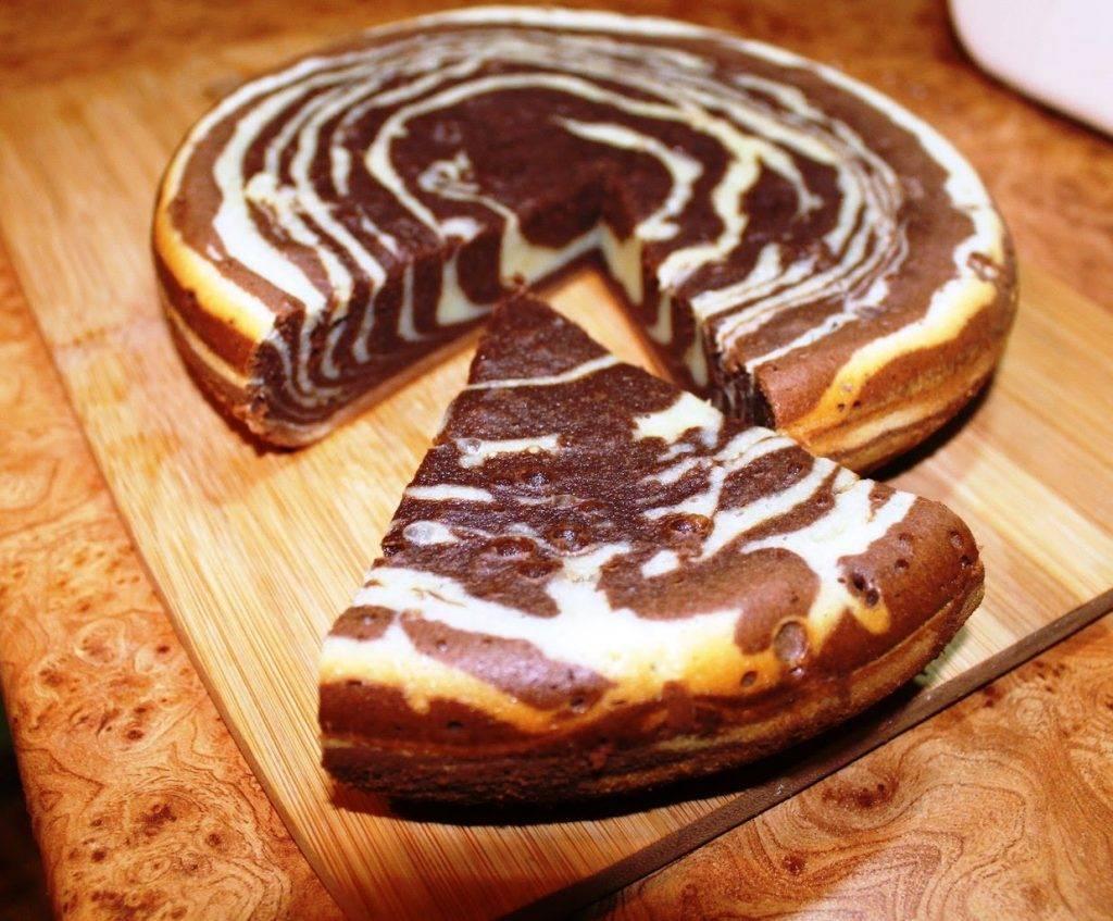 Торт зебра из кефира рецепт пошагово в домашних условиях