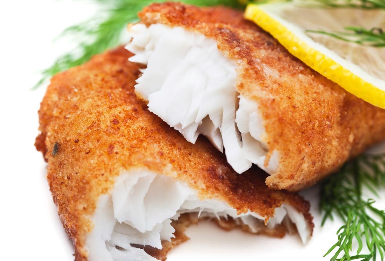 Филе рыбы в панировке рецепт