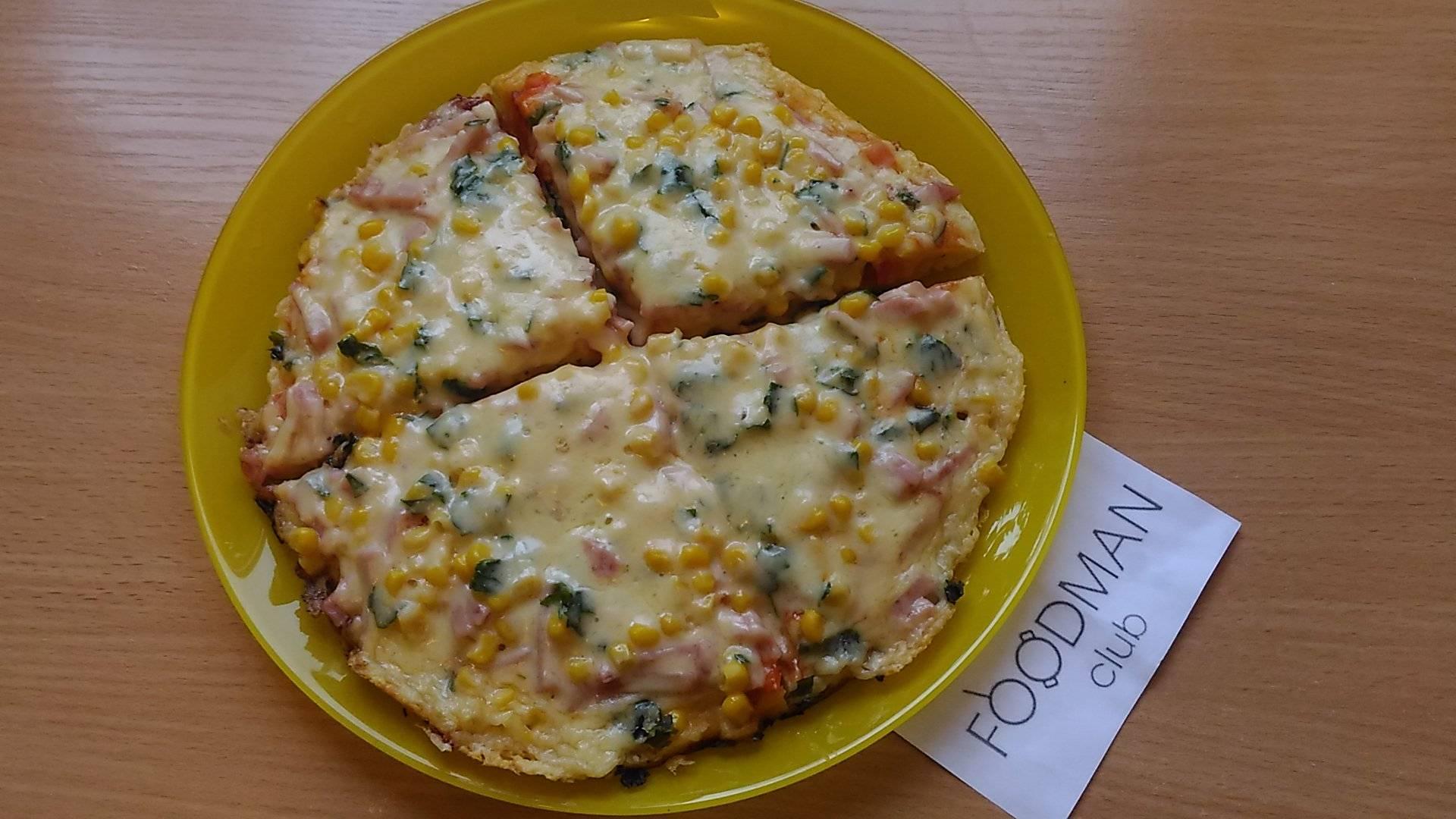 Пицца за 10 мин рецепт пошагово