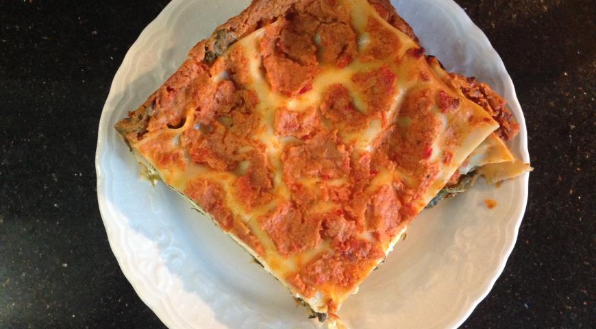 Овощная лазанья пошаговый рецепт с фото