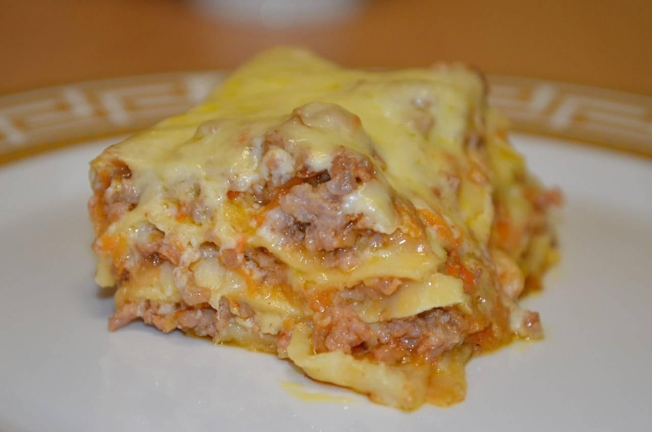 Лазанья с соусом пошаговый рецепт