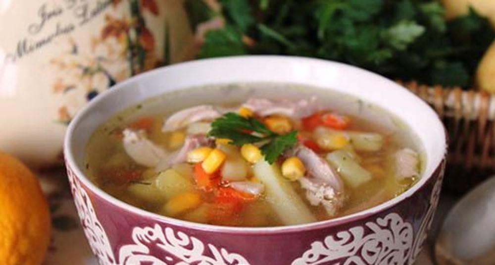 Суп куриный с в мультиварке рецепт с фото
