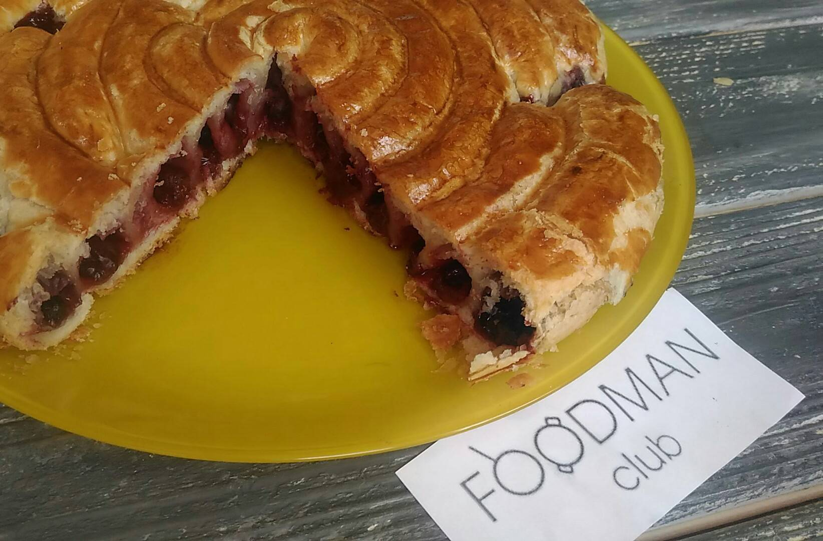 Пирог с печенью рецепт пошагово в духовке из слоеного теста