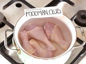 Куриный суп с яйцом по-домашнему - 1