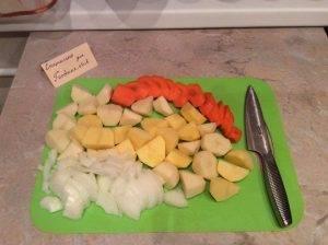 Куриные ножки с овощами в рукаве - 2