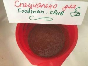 Шоколадная колбаса без выпечки - 3