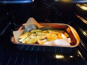 Картофель по-деревенски с зеленью - 4