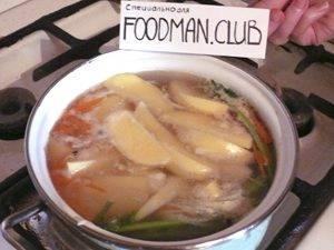 Куриный суп с яйцом по-домашнему - 7