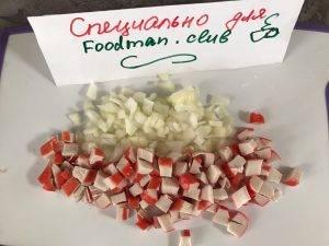 Салат из крабовых палочек - 1