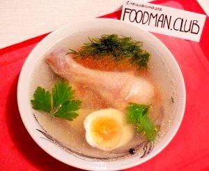 Куриный суп с яйцом по-домашнему - 8