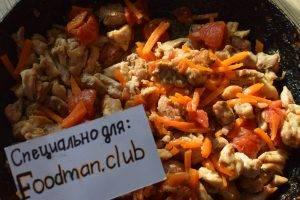 Подлива из куриного мяса с овощами - 15