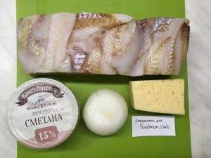 Судак, запеченный под сыром и сметаной - 0