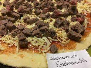 Пицца с говядиной и перцем чили - 10