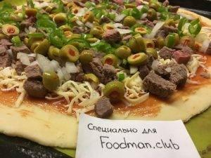 Пицца с говядиной и перцем чили - 11