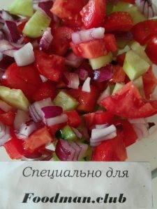 Шопский салат - 3