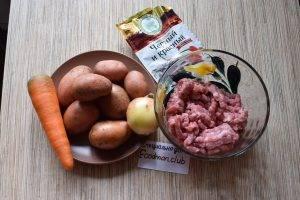 Суп картофельный с фрикадельками - 0