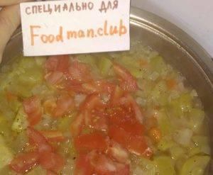 Кабачки, тушенные с овощами и сметаной - 5