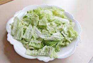 Салат с куриной грудкой, овощами и йогуртом - 1