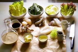 Салат с морепродуктами - 0