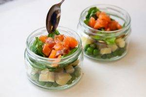 Гравлакс с картофельным салатом - 0