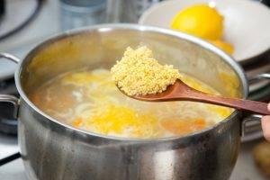Полевой суп с курицей - 1