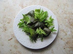 Цитрусовый салат с лососем - 0