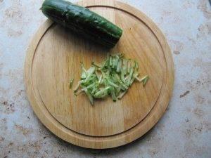 Салат из овощей и нута на рисовой бумаге - 0