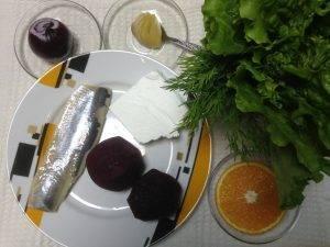 Салат со свеклой и селедкой - 0
