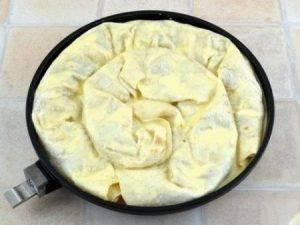 Пирог из лаваша с мясом - 1