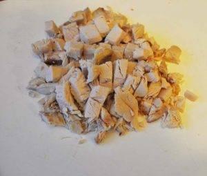 Салат мясной с грибами - 0