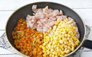 Куриная грудка с кукурузой - 0