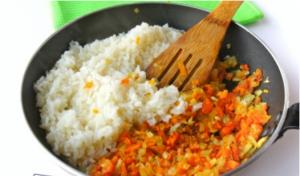 Запеченная курица, фаршированная рисом - 2