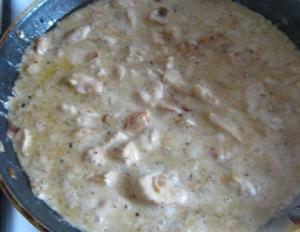 Куриное филе под сырно-яичным соусом - 2