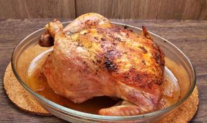 Курица, запеченная в духовке целиком - 6