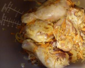 Курица с картофелем, тушеная в мультиварке - 1