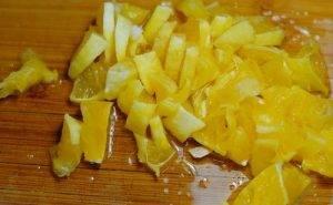 Рисовая каша с апельсином и фейхоа - 1