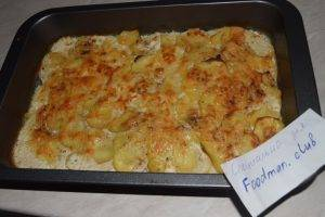 Гратен (картофельная запеканка) - 5