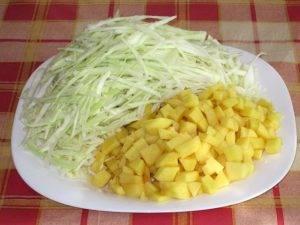 Щи из свежей капусты с фасолью - 0