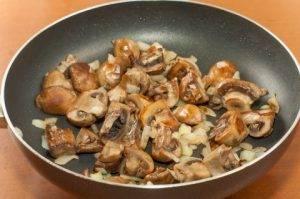 Бефстроганов с грибами - 0