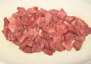 Тушеная квашеная капуста с мясом и грибами - 0