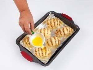 Картофель с начинкой из грибов и куриного филе - 3